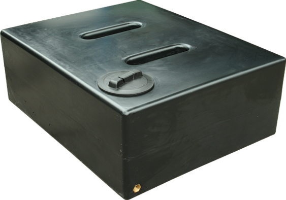 ecosure 500 liter l gro flach regenfass regen ernte. Black Bedroom Furniture Sets. Home Design Ideas