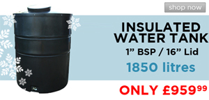 insualted water tank