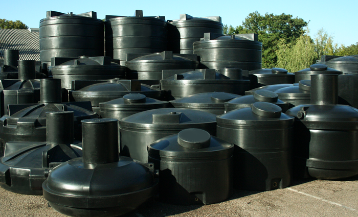 Standard Water Tanks: 75 Litre to 25,0000 Litres