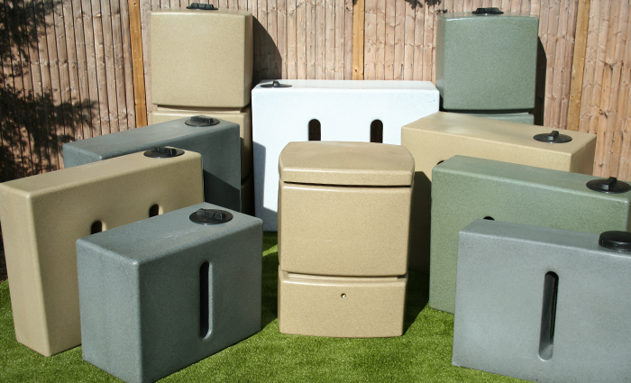 Water Butts: Rainwater Collection Tanks